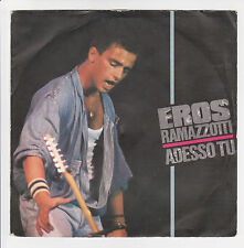 "RAMAZZOTTI Eros Vinyl 45 tours 7"" ADESSO TU - UN NUOVO AMORE - DDD 6918 F Réduit"