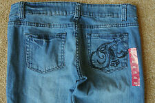 FOX CO. HESHER Riders Sexy Skinny Jeans 31X33 NWOT$125 Stretch! Distressed!