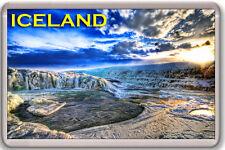 ICELAND FRIDGE MAGNET SOUVENIR IMÁN NEVERA ISLANDIA