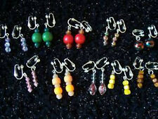 5 pairs of dainty clip-on earrings - ideal for kids