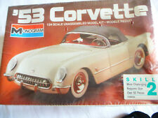 Chevrolet Corvette 1953  OVP 1 : 24 Monogram