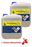 Reinigungsbenzin Leichtbenzin Waschbenzin Entfetter 2x10 L + Ablasshahn