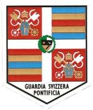 TOPPE PATCH GUARDIA SVIZZERA PONTIFICIA GIOVANNI PAOLO II GUARDIA SUIZA EB01227