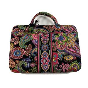Vera Bradley Quilted Laptop Computer Hard Case Symphony in Hue tags retired