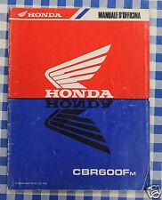 BB 69MV900 Manual De Taller Suplemento Honda CBR600F M pulse 1990
