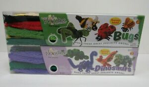 Brain Noodles Craft Set Dinosaurs and Bugs Activity x 2 - AMZ 2D