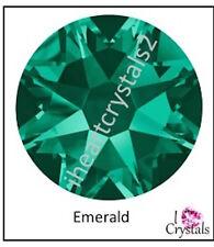 EMERALD Green 20ss 5mm 12 pieces Swarovski Crystal Flatback Rhinestones 2088
