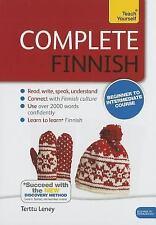Complete Finnish Beginner to Intermediate Course: Learn to read, write, speak an