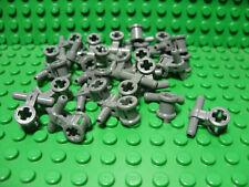 ** 25 CT LOT **  Lego NEW dark bluish gray pneumatic hose / axle connector pcs