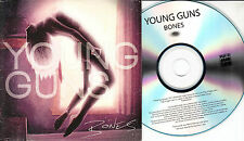 YOUNG GUNS Bones 2012 UK 12-trk promo test CD