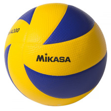Mikasa FIVB Volleyball Official Olympic Game Ball Dimpled Surface MVA200 Swirl