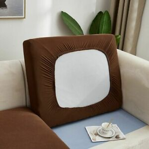 Stretch Sofa Cushion Cover Solid Spandex Seat Cases Couch Lounge Protection Case
