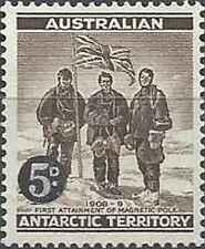 Timbre Drapeaux Antarctique Australie 2 ** lot 25569