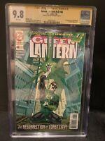 Green Lantern 48 CGC 9.8 Signed By Bill Williamgham