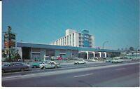 """Blue Boy Motor Hotel, Vancouver, British Columbia, Canada"" 1960's cars Postcard"