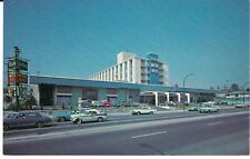 """Blue Boy Motor Hotel, Vancouver, British Columbia, Canada"" 1960's cars Postcard"