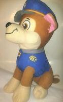 Large Paw Patrol Plush  Chase  Stuffed Plush Animal 14'' Licensed Doll Toy Soft