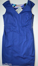 NWT Emilio Pucci Italy Cotton Stretch Sheath Techno Dress Size 48(IT)