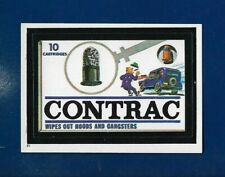 1982 Topps Wacky Packages #81 Contrac (NM) Album Sticker