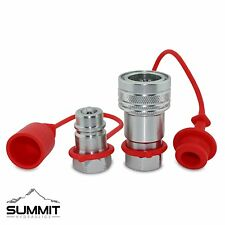 """1/2"""" Ag Hydraulic Quick Connect Couplers Couplings, Ball Pioneer Parker Style"""