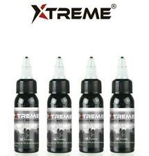 XTREME Premium Tattoo Shading Ink WHITE WASH 4-Pack Set (1-oz Bottles)