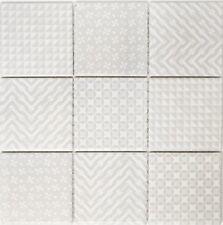 Mosaik Geo Grey Fliesenspiegel Küche Wandverkleidung Art: 22B-1402 | 10 Matten