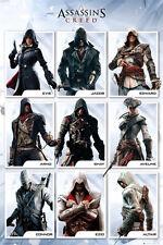 Assassins Creed - Compilation POSTER 61x91cm NEW * Altair Ezio Connor Evie Ed