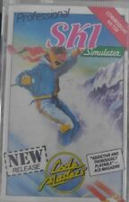Professional Ski Simulator (Codemasters 1987) C64  (Box Tape Manual) 100 % ok
