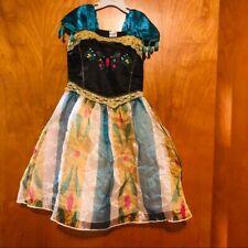 New Frozen Movie Princess Anna Dress Costume Xs 4
