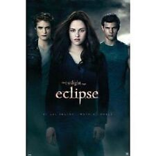 TWILIGHT SAGA ECLIPSE ONE SHEET POSTER BELLA EDWARD JACOB NEW 22x34 FREE SHIP