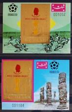YEMEN 1970 SOCCER XF OVP ImPerf + Perf MNH** Sheets, Football, Pélé Champion