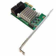 Startech Pexsat34Rh 4 Port PCI Express 2.0 SATA III 6Gbps RAID Controller Card