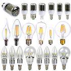 E27 E14 G9 5730 5630 4014 SMD LED Edison Filament Maïs Ampoule Lampe Bulb 2W-30W