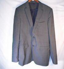 Men's Hugo Boss Gray Two Button Blazer Sport Coat Suit Jacket Size 40L