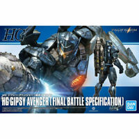 BANDAI HG Pacific Rim GIPSY AVENGER FINAL BATTLE SPECIFICATION Model Kit NEW