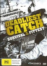 DEADLIEST CATCH - SURVIVAL OF THE FITTEST - NEW REGION 4 DVD FREE LOCAL POST