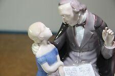 Bing and Grondahl B&G 2037 Hans Christian Andersen Reading to Little Girl