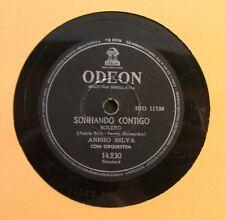 ANSIO SILVA / SEMPRE COMIGO / SONHANDO CONTIGO / 78 RPM RECORD