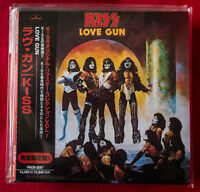 KISS LOVE GUN Japan first press mini lp cd rare OBI PHCR-3057 very rare