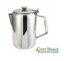 NEW 32oz. Coffee Pot Teapot Stainless Steel Holloware