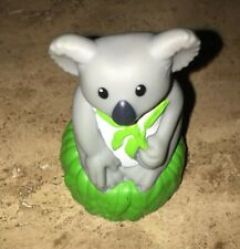Koala Bear Plastic Toy Figurine Mattel 2011 Made In China 3� Tall 2� Wide