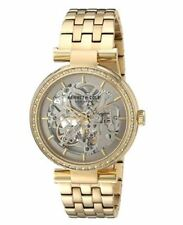 10030807 Kenneth Cole New York Women's Automatic skeleton Gold-Toned Dress Watch