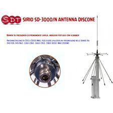 SIRIO SD-3000/n-Antenne DISCONE RX: 300-3000 MHz TX: 340-535, 545-960, 1180-1380