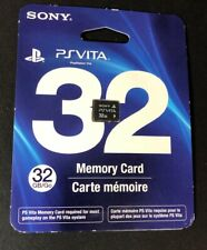 Official Sony PS Vita 32GB Memory Card NEW