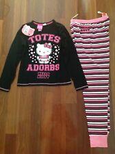 Hello Kitty Girls Long Sleeve Sleepdress Dress 100/% cotton Yr 2 4 6 8//98cm-128cm