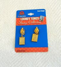 LOONEY TUNES STAMP COLLECTION EARRINGS - GOLD COLOR