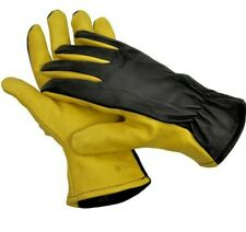 Gold Leaf Dry Touch Gloves GENTS FIT.  Mens Leather Gardening Gloves