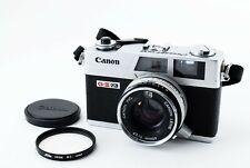 N-Mint🌟 Canon Canonet QL17 GIII 35mm Rangefinder Film Camera 40mm F/1.7 f Japan