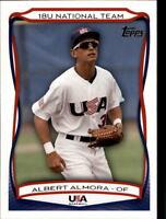 2010 USA Baseball Singles (Pick Your Cards)