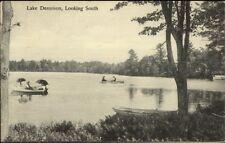 Boating Lake Dennison - Baldwinsville Cancel c1910 Postcard